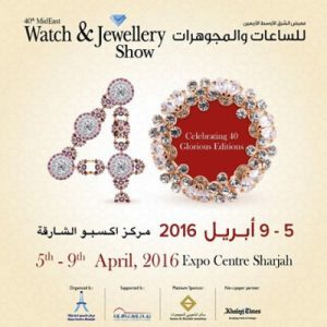 Interview for the 40th MidEast Watch and Jewellery Show